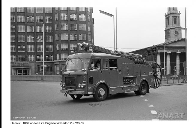 F106 Batch 2 LFB AEC Diesel 1966
