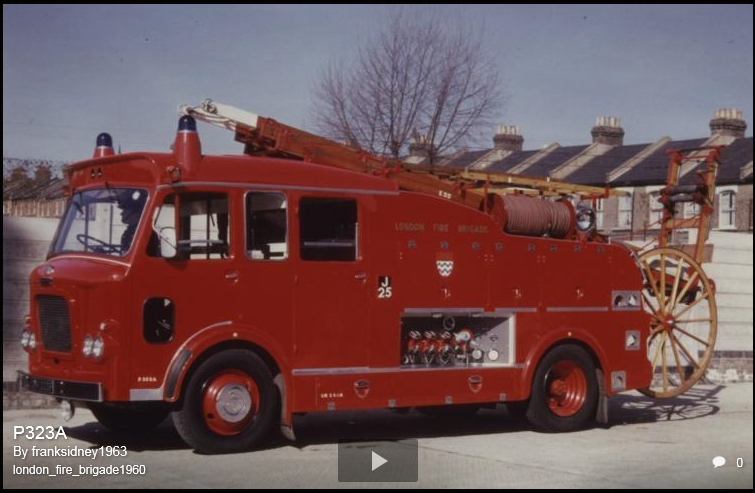 F106 Batch 5, AEC Diesel LFB 1968 Modified Roof Line