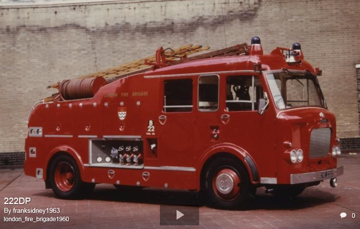F111 Batch 1, LFB AEC Diesel (Automatic) 1965