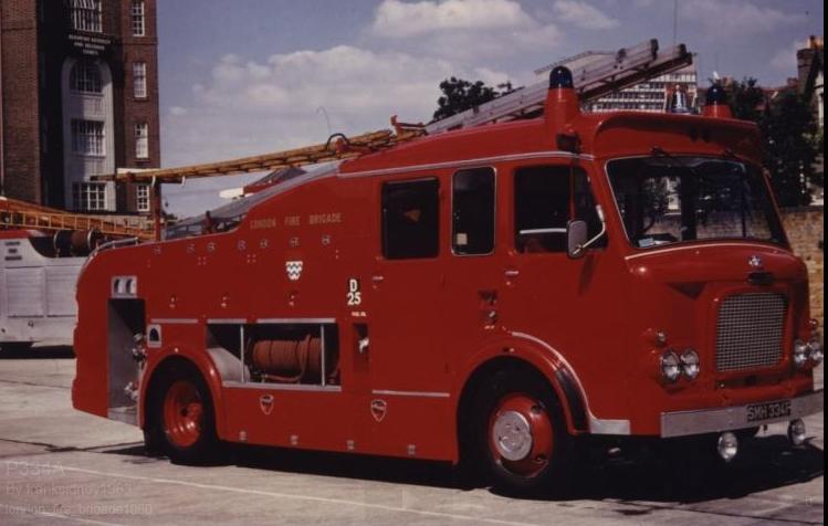 Last F106's, Batch 6 AEC Diesel LFB 1968